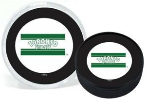 Toronto St. Pats (Maple Leafs) 1919 Vintage NHL 3D Textured Puck in Display Tube