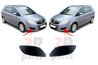 FOR VAUXHALL OPEL ZAFIRA B 2008 - 2012 NEW FRONT BUMPER FOG LIGHT COVER PAIR SET