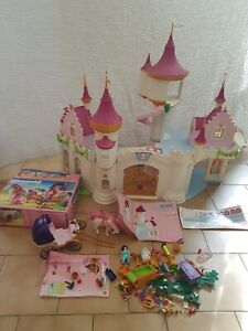 Playmobil Princess - Grand Chateau de Princesse - 6848 - En Bon état incomplet