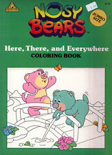 Nosy Bears coloring book RARE UNUSED