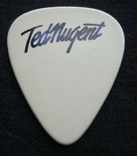 TED NUGENT GUITAR PICK 1981 TOUR INTENSITIES IN 10 CITIES