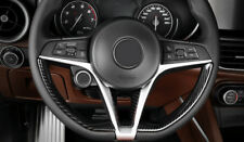 Alfa Romeo Gulia & Stelvio Carbon Cover für Lenkrad Innenkranz & Speiche Mitte