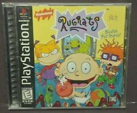Rugrats: Search for Reptar  Playstation 1 2 PS1 PS2 Game Complete Tested Working