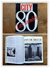 City Magazine International n 7 janvier 1985 Revue Anni 80 Nabokov Avanguardia