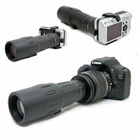 10x 42 1000mm Telescope for Canon EOS Rebel XS 1000D Kiss F EF-s 18-55mm Lens