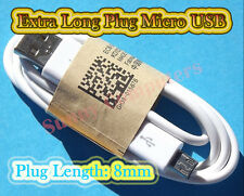 Long Plug Micro USB Cable Data Charge Cord For Samsung Galaxy J1 /Ace Trend Plus