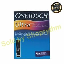 One Touch Ultra Blue 50 Test Strips  (Expiry - 07/2018)