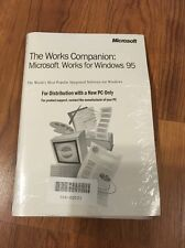 NEW: The Works Companion - Microsoft Works for Windows 95, Version 4.5