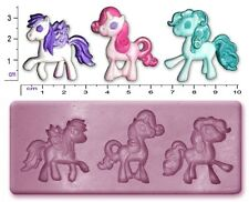 HORSE My Little Pony Craft Sugarcraft Fimo Sculpey Silicone Rubber Mould