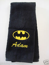 Personalized Embroidered Golf/Bowling Towel Batman