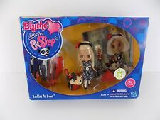 Blythe Littlest Pet Shop Buckles & Bows Doll and Pet Play Set #B2 #1618 New