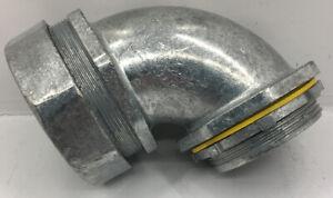 LT90200 ARLINGTON 2-INCH 90 DEGREE LIQUID-TIGHT CONNECTOR FOR METALLIC & NON-MET