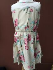 BNWT Girls Cream Coloured Floral Dress By JACADLZARE (6-7 Yrs) *REDUCED*