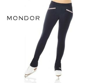 CLEARANCE SALE Mondor® PowerMAX® Black Ladies Leggings Figure Skating Pants