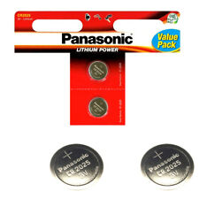 2 Panasonic CR2025 Batteries Lithium Battery 3V Button Coin Cell CR 2025