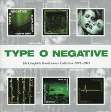 TYPE O NEGATIVE -COMPLETE ROADRUNNER COLLECTION 1991-2003 6 CD DEATH METAL NEW!