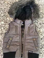 Baby DKNY Sleeveless Puffer Jacket Age 3 Months