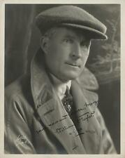 William Desmond Taylor rare photograph signed to Mary Miles Minter. Lot 162