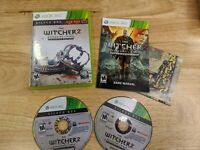 The Witcher 2 Assassins of Kings Enhanced Edition Silver Box w/ Map Complete CIB