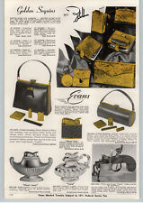 1957 PAPER AD Dunhill Flint and Tindar Pistol Table Lighter Ronson Esso Beattie