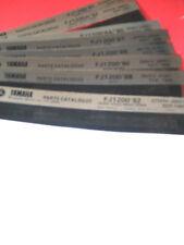Yamaha Parts Catalogues