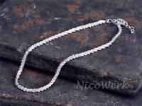 Silberarmband Glanz Schlicht Glänzend Armband Silber 925 Armkette Damen Schmuck
