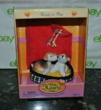 New Only Hearts Club Ready to Play Set Puppy Dog Patches & Sniff Blanket Bed
