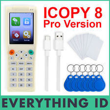 ICOPY 8 PRO SMART CARD KEY TAG COPY MACHINE RFID NFC COPIER HID WRITE ICOPY8