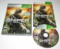 Sniper: Ghost Warrior for Xbox 360 Complete Fast Shipping!
