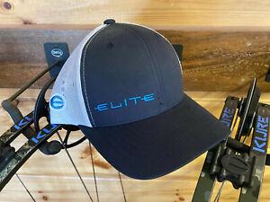 NEW 2020 Elite Blue Gray Hat Cap Kure Rezult Ritual Ember Archery Compound Bow