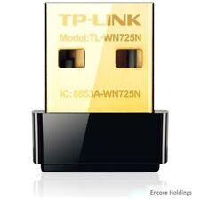 TP-LINK Wireless N Nano USB Adapter, 150Mbps, Miniature Design, Plug TL-WN725N