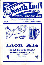 Preston North End V Huddersfield Town 66-67 de la Liga Match