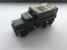 Vintage Soviet Army Truck Military WW2 Metal Toy