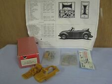 NEW UNBUILT, TRON Kits Volkswagen Maggiolone 1303 Cabriolet 1975, 1/43 Resin Kit