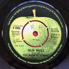 Paul Mccartney & Wings - Helen Wheels - Apfel Records R-5993 VG+ Records