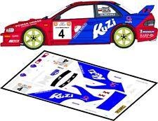DECALS 1/43 SUBARU IMPREZA WRC - #4 - KUZAJ - RALLYE WISLA 1999 - D43126