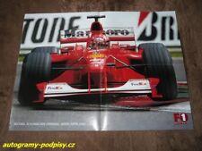 Michael SCHUMACHER (Ferrari /2000/) - CZE F1 Racing poster 4xA4 Format