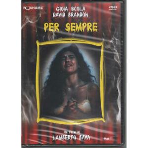 Per Sempre DVD Lamberto Bava D Brandon G M Scola M Vivio U Barberini Sigillato