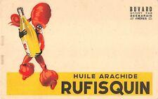 BUVARD Publicitaire - Huile arachide Rufisquin