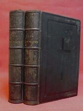 VIES DES SAINTS - JANVIER à DÉCEMBRE - 200 Livraisons - 2/2 volumes - 1854