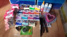 Fimo Polymer Clay Craft Bundle * 45pcs * Mostly New!