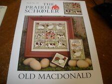 Old MacDonald - 3 samplers & ornaments - Prairie Schooler New Chart OOP #147