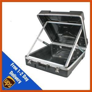 """Pulse 19"""" 12U ABS Mixer Flight Case - For Rack Mount Mixing Desks"""