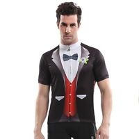 NEW Gentleman British style Men's Cycling Clothing Bike Bicycle Jersey Top