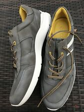 ECCO Irondale Men's Gray Leather & Synthetic Fashion Sneakers Shoes,Sz 13-13,5
