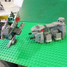 Star Wars Lego 75078 8014 sets Imperial Troop transport & clone walker read