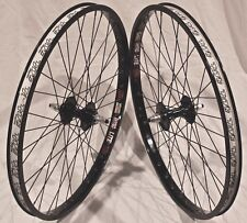 BMX BICYCLE WHEEL SET SUN RHYNO LITE XL, TNT BICYCLES REVOLVER, 24 inch - BLACK