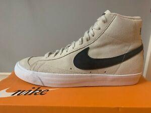 Men's Nike Blazer Mid 77 Suede US9 (Light Orewood Brown/Black-White) Brand New