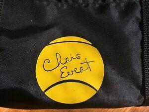 Chris Evert vintage duffle bag tennis