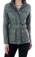 BNWT Barbour International Bearings wax cotton jacket Smu Khaki size 16